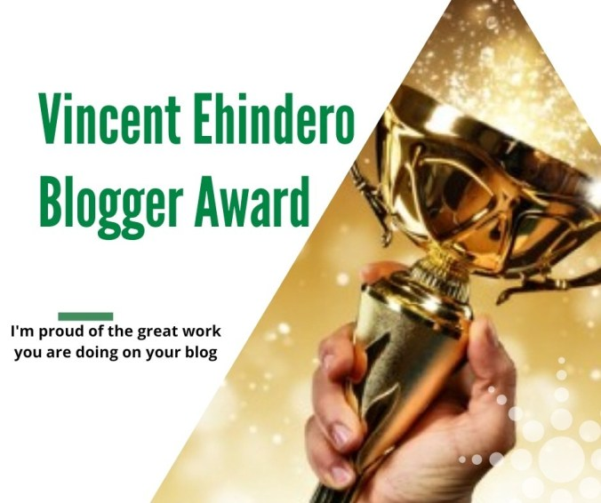 Vincent-Ehindero-Award
